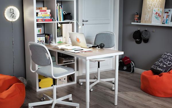 Home office: combinazione KALLAX - Design e foto by Ikea