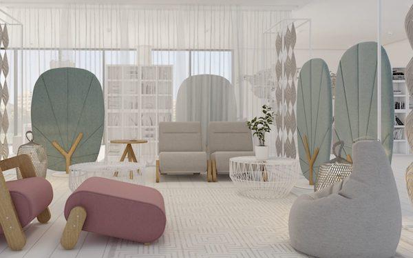 Divisorio per home office Tree - Design e foto by Mikomax