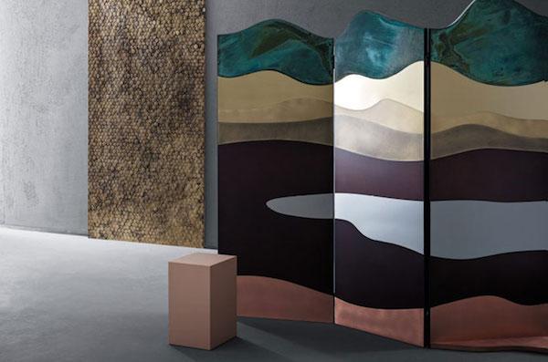 Séparé Painting - Design A. Baldereschi, foto by De Castelli