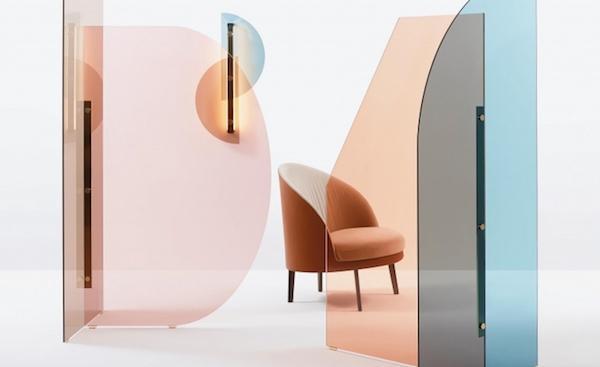 Divisorio per home office Vela - Design Bernhardt e Vella, foto by Arflex