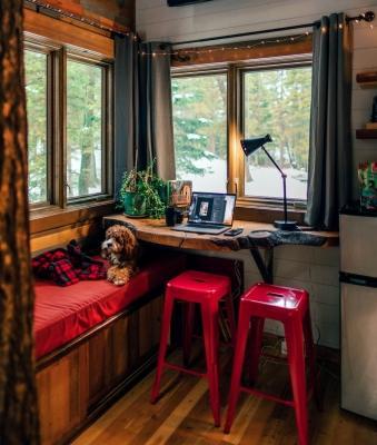 Home office in cucina - piccolo ma utilissimo