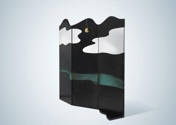 Divisorio per ambienti Painting, versione - Design e foto by De Castelli