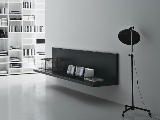 Mensola-scrivania Web: soluzione per home office - Design e foto by Porro