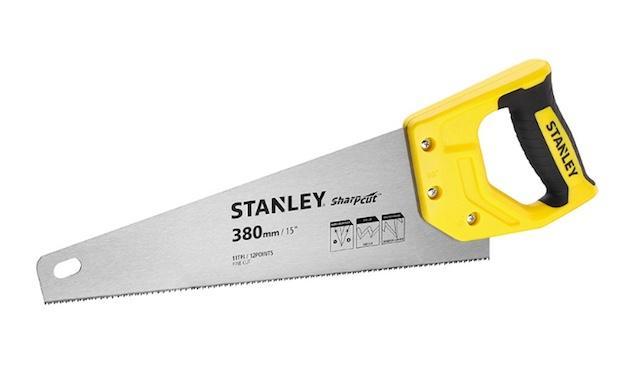 Laboratorio fai da te: segaccio per legno, da Stanley