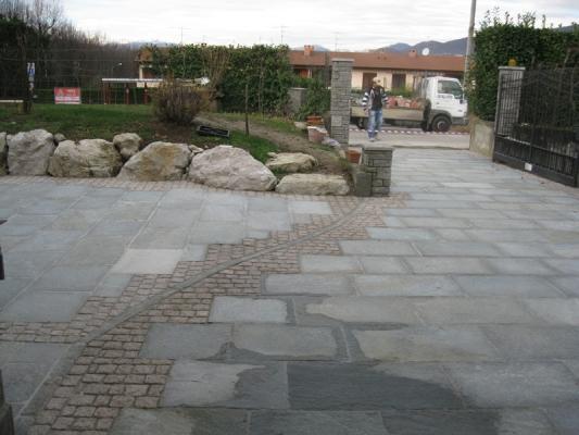 Pavimentazioni esterne realizzate in pietra