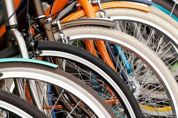 Rastrelliera bici in condominio