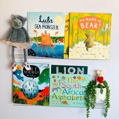 Mensole per libri Clear Acrylic Childrens Nursery Bookshelf su Etsy