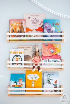 Set di 3 mini librerie su Etsy di Pinguwood