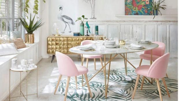 Un tavolo in marmo unisce bellezza, solidità e pulizia