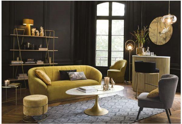 Tavolino in marmo per salotto Manisa di Maisons du Monde