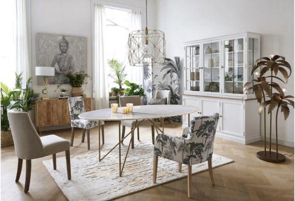 Tavolo con piano in marmo Izmir Maisons du Monde