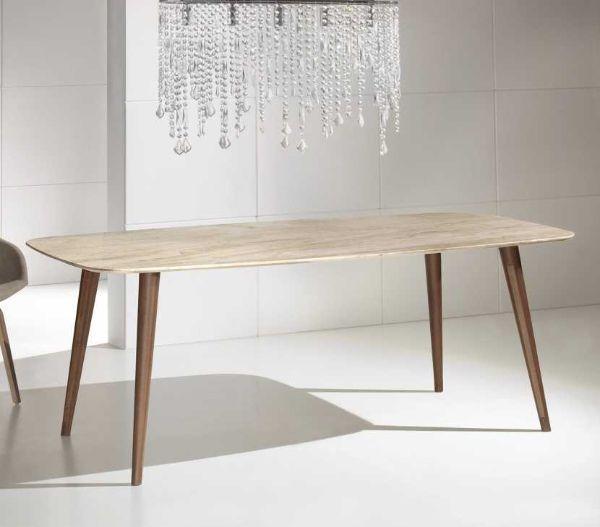 tavolo in marmo Hercules di Viadurini