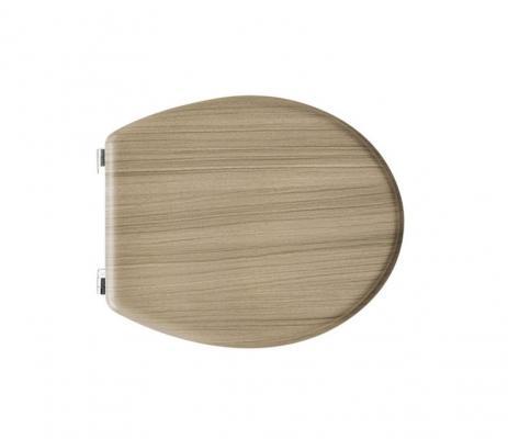 Copriwater universale in legno di rovere by CeramicStore