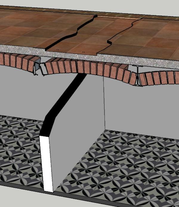 Cedimento fascia di solaio in seguito a rimozione tramezzo