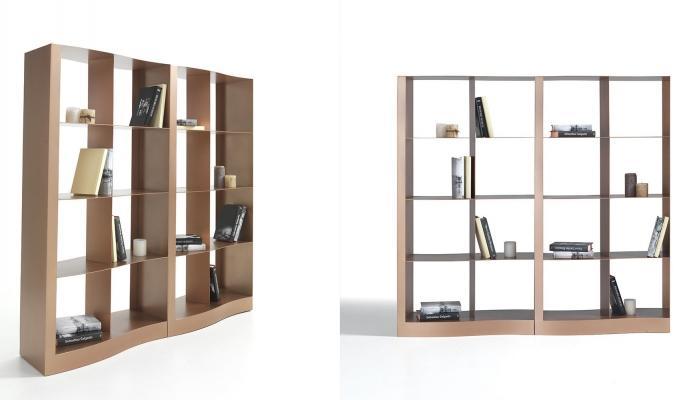Librerie bifacciali divisorie - ELITE TO BE