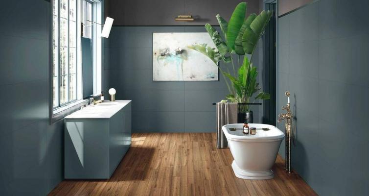 Ampliare bagno - Marazzi Eclettica grande formato