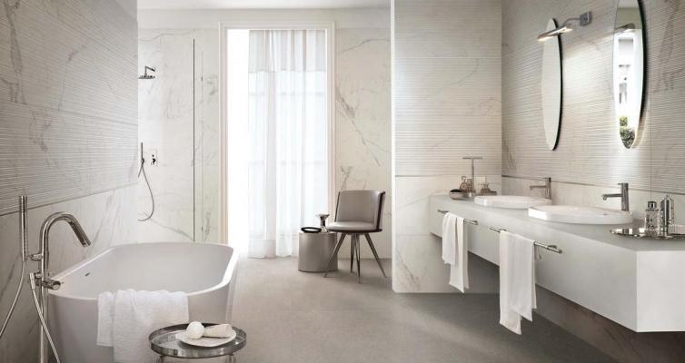 Ampliare bagno - Marazzi Magnifica effetto marmo