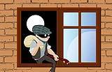 Le inferriate rendono difficile le intrusioni dei ladri