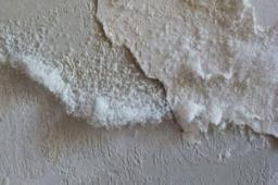 Umidità di risalita muratura e formazione efflorescenze saline