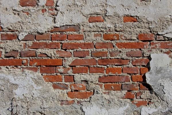 Umidità di risalita in muratura di mattoni
