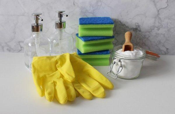 Azione pulente e disinfettante di ingredienti naturali