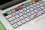 Tastiera adesiva per laptop su Etsy