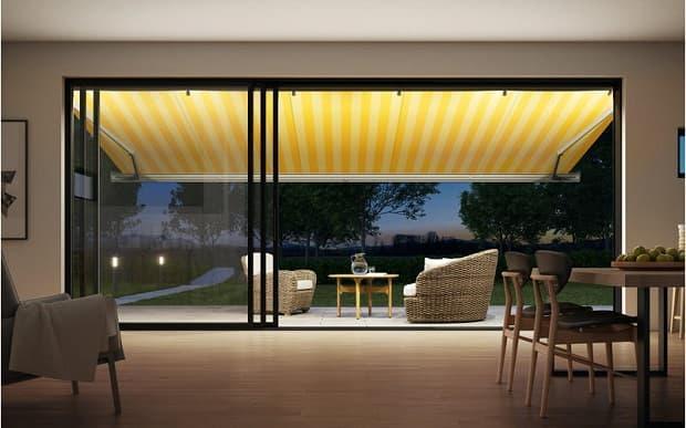 Tenda da sole Markiluk 970 giallo