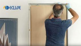 Porte scorrevoli con binario estraibile