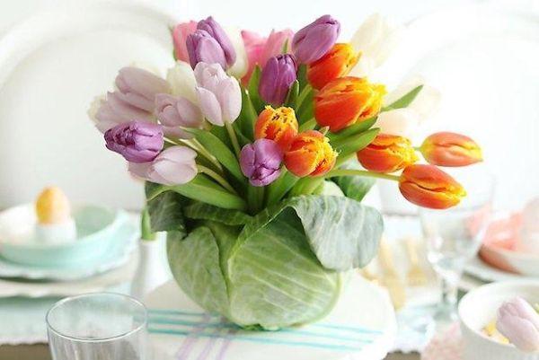 Centrotavola fiorito Darlingdarleen.com