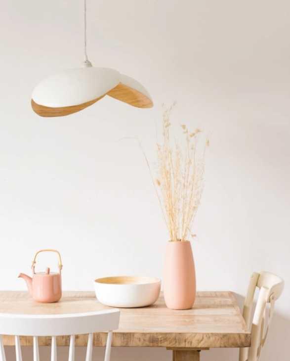 Lampadari da cucina in bambù, da Maisons du Monde