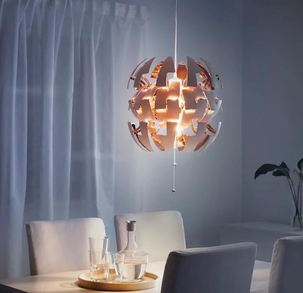 Lampadari da cucina regolabili, da Ikea