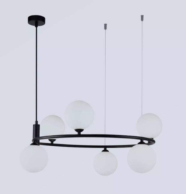 Lampadari da cucina con sfere in vetro, da Mazzola Luce