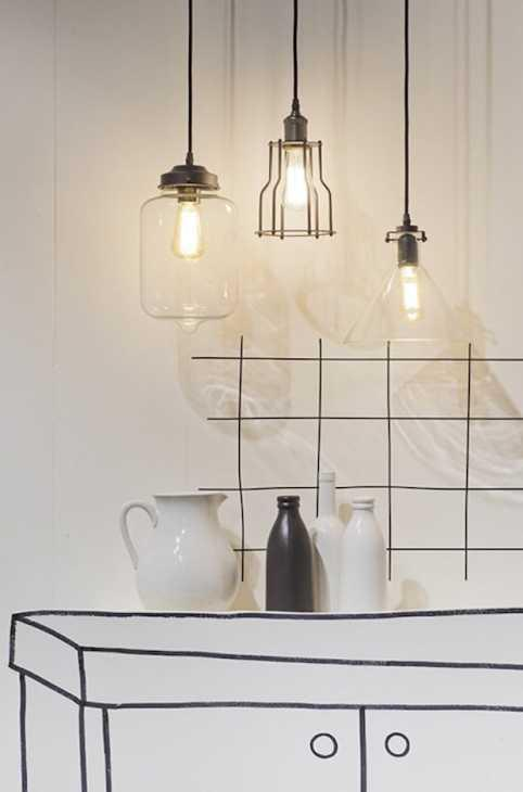 Lampadari da cucina a sospensione, da Hometreschic