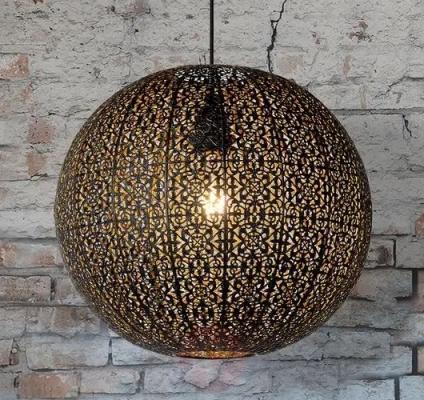 Lampadari da cucina in stile orientale, da Trio Lighting