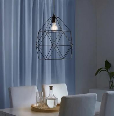 Lampadari da cucina in acciaio, da Ikea