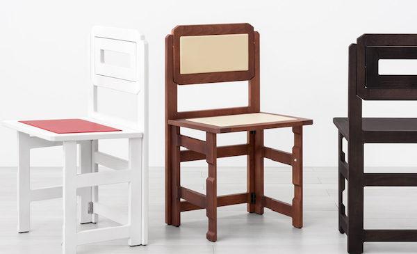 Sedie pieghevoli salva spazio - Design e foto by LG Lesmo