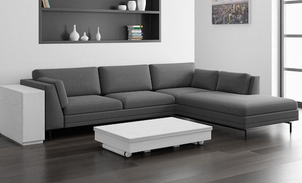 Tavolo trasformabile a rotazione - Design e foto by LG Lesmo