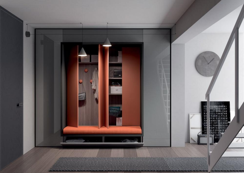 Parete attrezzata Alcova System 263 - Design by Tumidei
