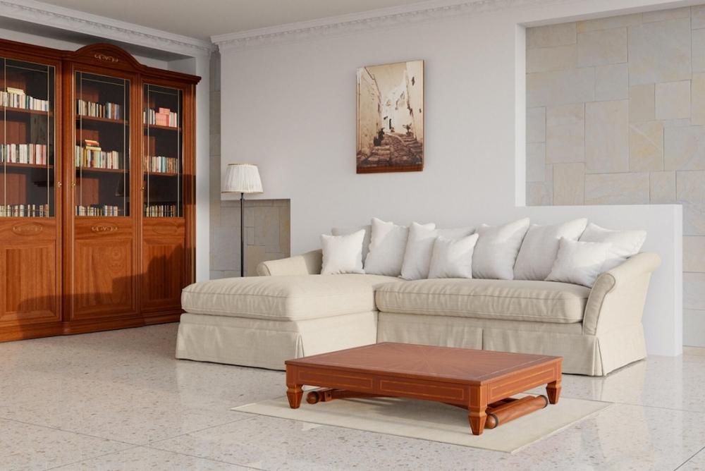 Tavolino trasformabile classico - Design e foto by Lg Lesmo