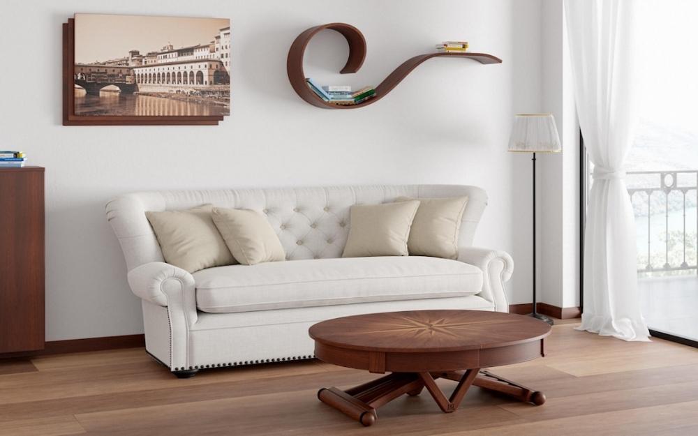 Tavolo allungabile ovale - Design e foto by Lg Lesmo