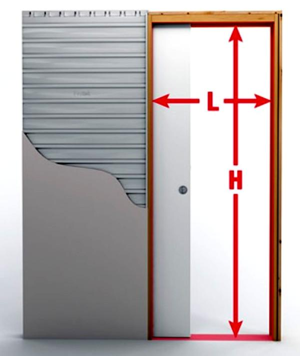 Dimensionatore per controtelai porte Protek