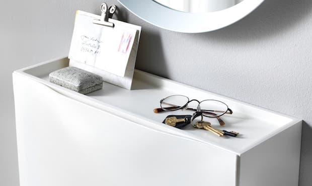 Ripiano scarpiera TRONES - Design e foto by Ikea