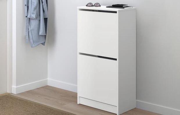 Scarpiera BISSA - Design e foto by Ikea