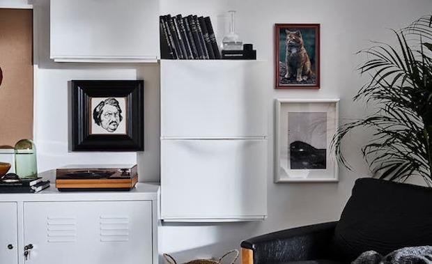 Scarpiera TRONES - Design e foto by Ikea