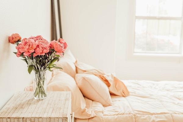 Ordine e pulizia in camera da letto