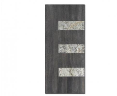 Pannello in legno con inserto in pietra Meteora di Compraleporteonline.it