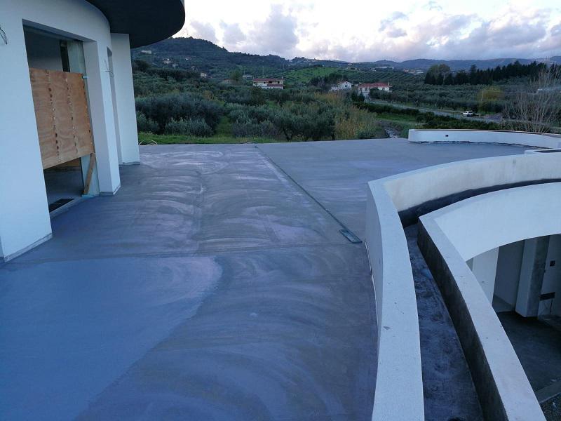 Ristrutturazione terrazzo impermeabilizzazione Volteco