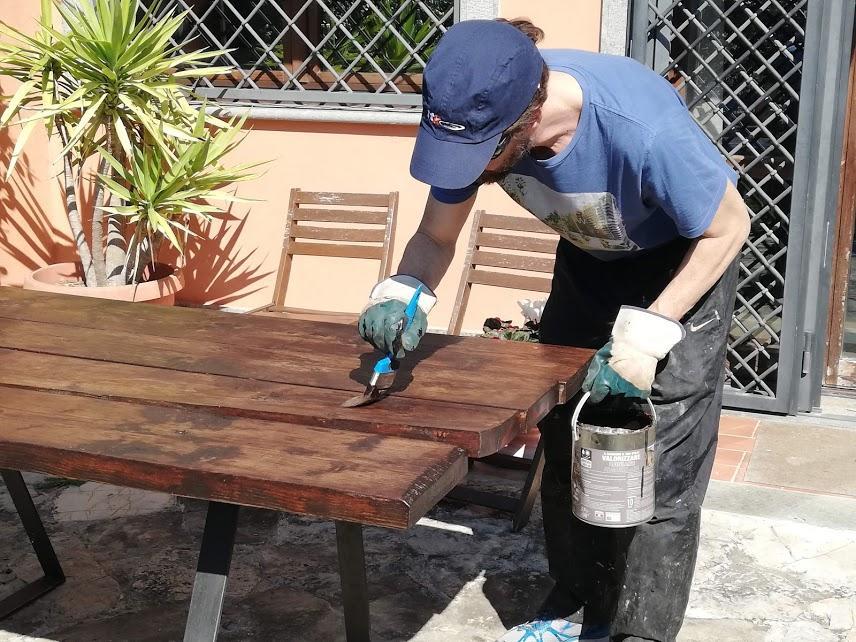 Fai da te, protezione legno in esterno