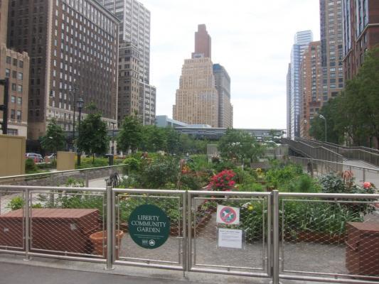 New York, Liberty Community Garden