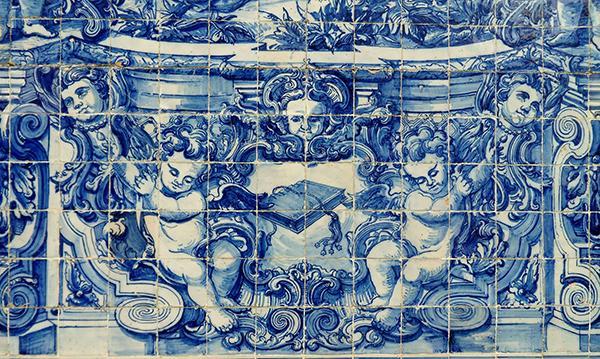 Antiche azulejos o maioliche portoghesi